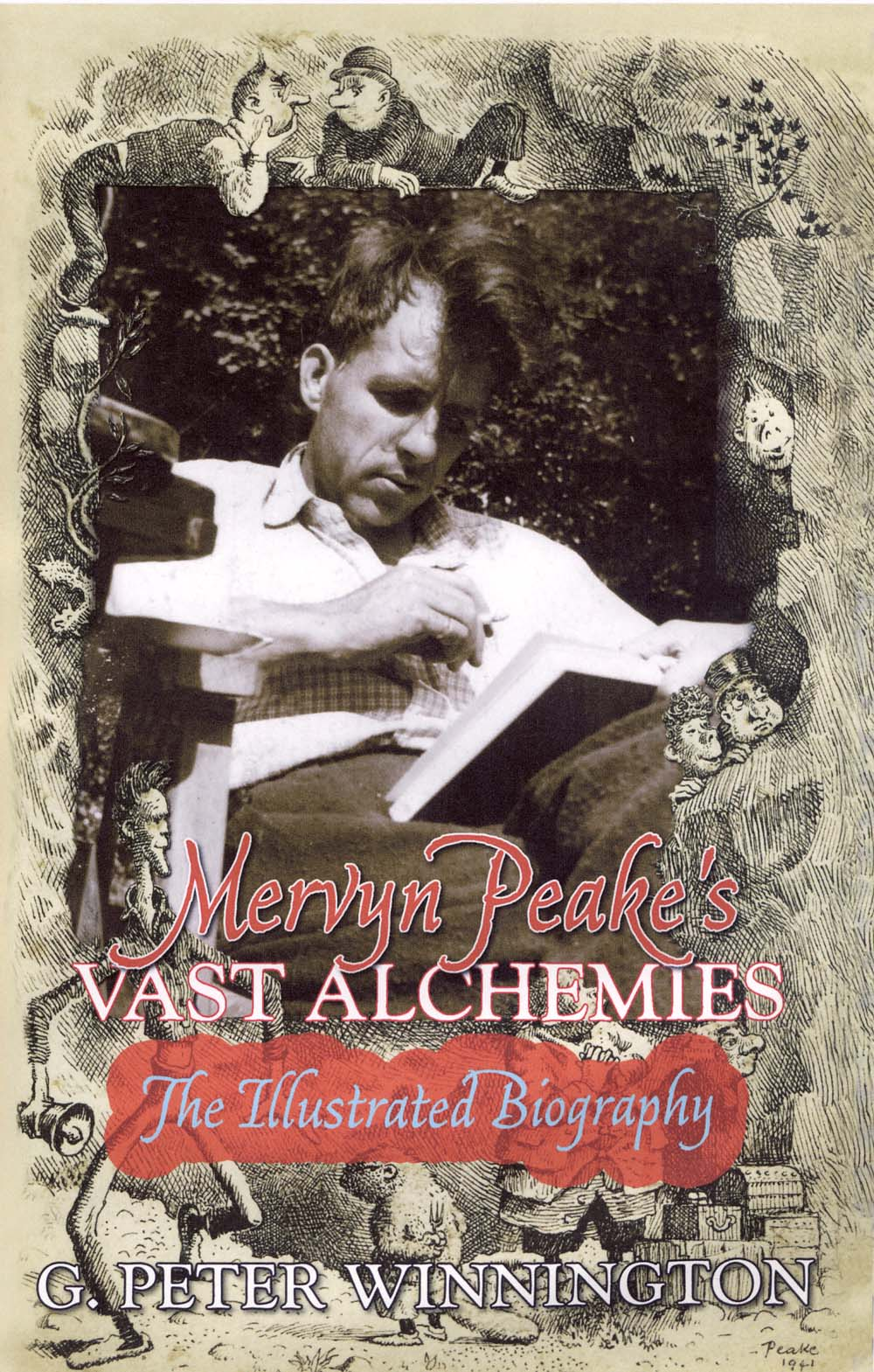 Cover of Mervyn Peake's Vast Alchemies